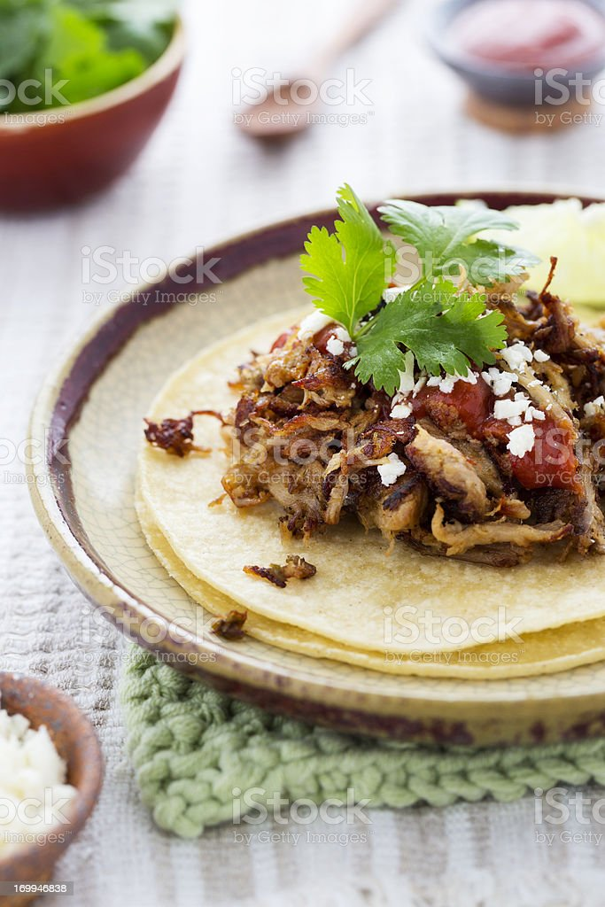 Carnitas stock photo