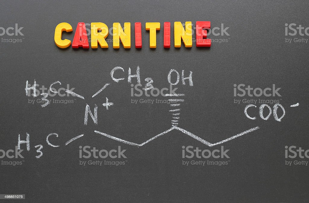 carnitine stock photo