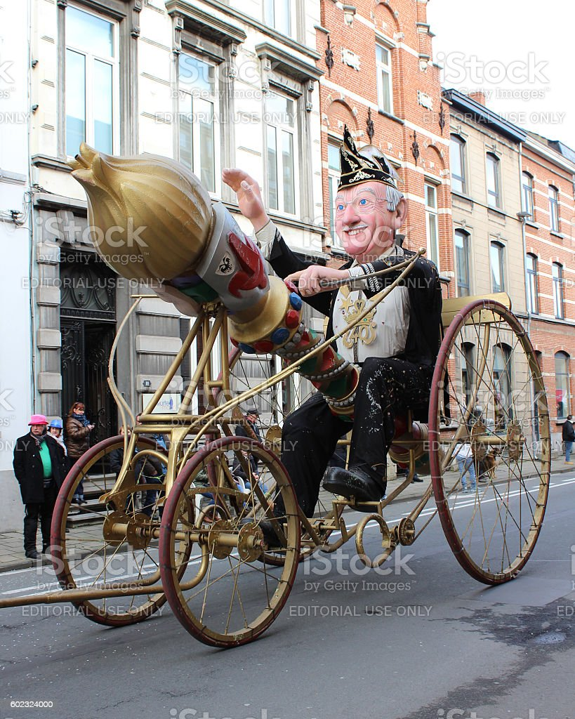 Carnival Aalst, Belgium stock photo