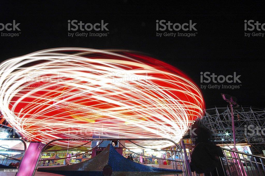 Carnival at Night (series) stock photo