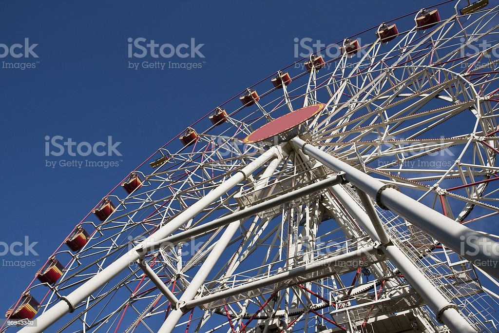 Carnival Big Ferris Wheel royalty-free stock photo