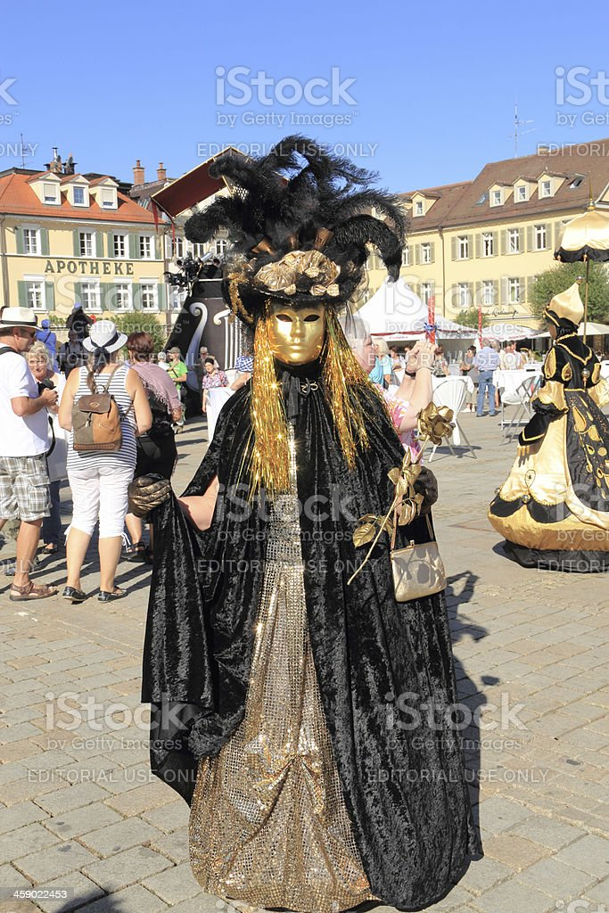 Carnival clothing costume royalty-free stock photo
