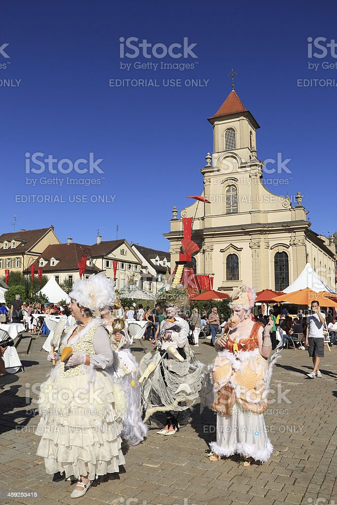 Carnival clothing costume stock photo