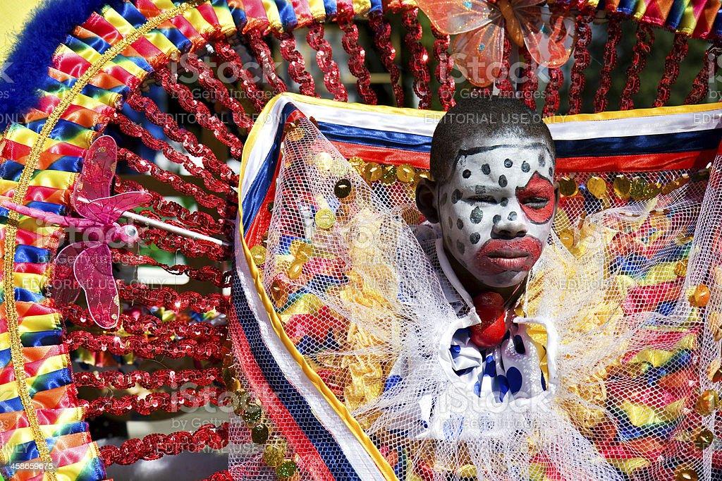 carnival clown stock photo