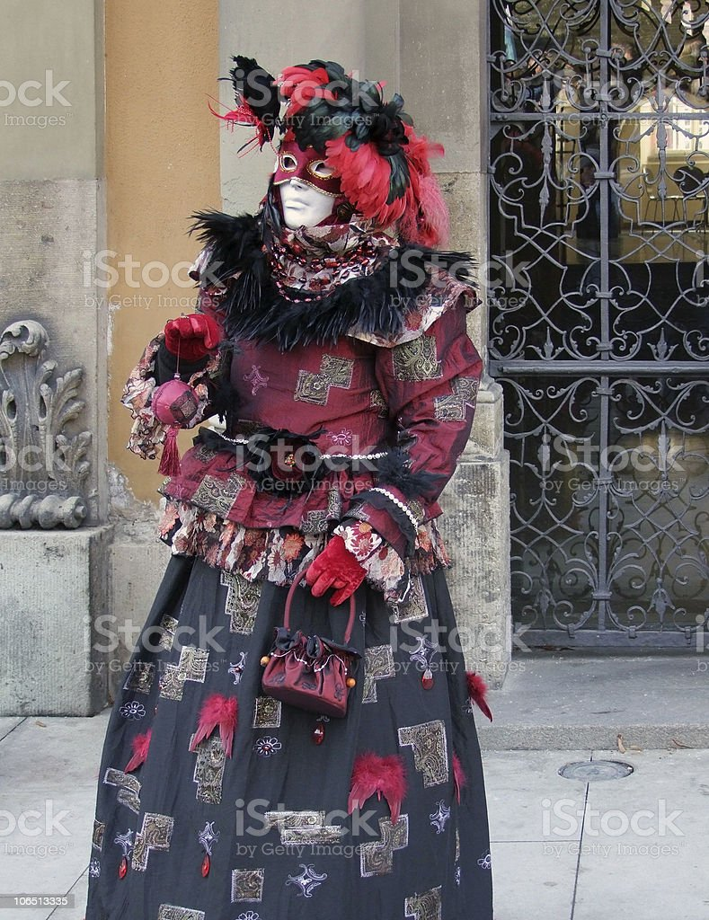 carnival costume royalty-free stock photo