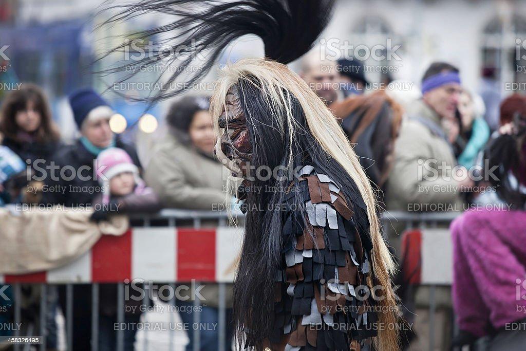 Carnival day in Freiburg 2013 stock photo