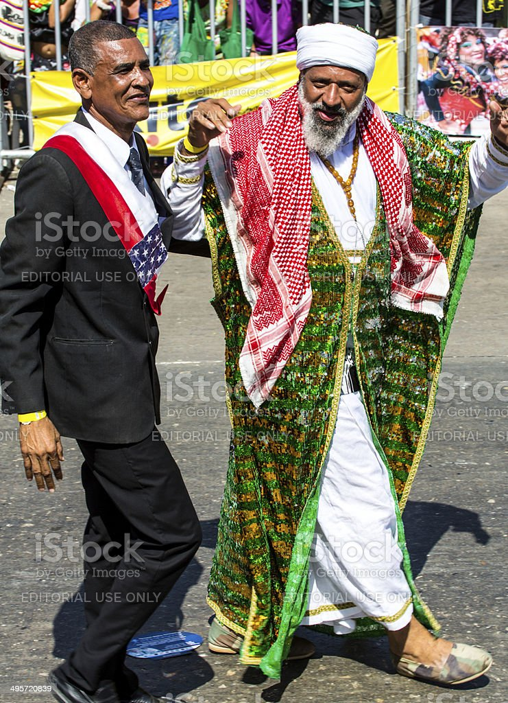 Carnival De Barranquilla stock photo