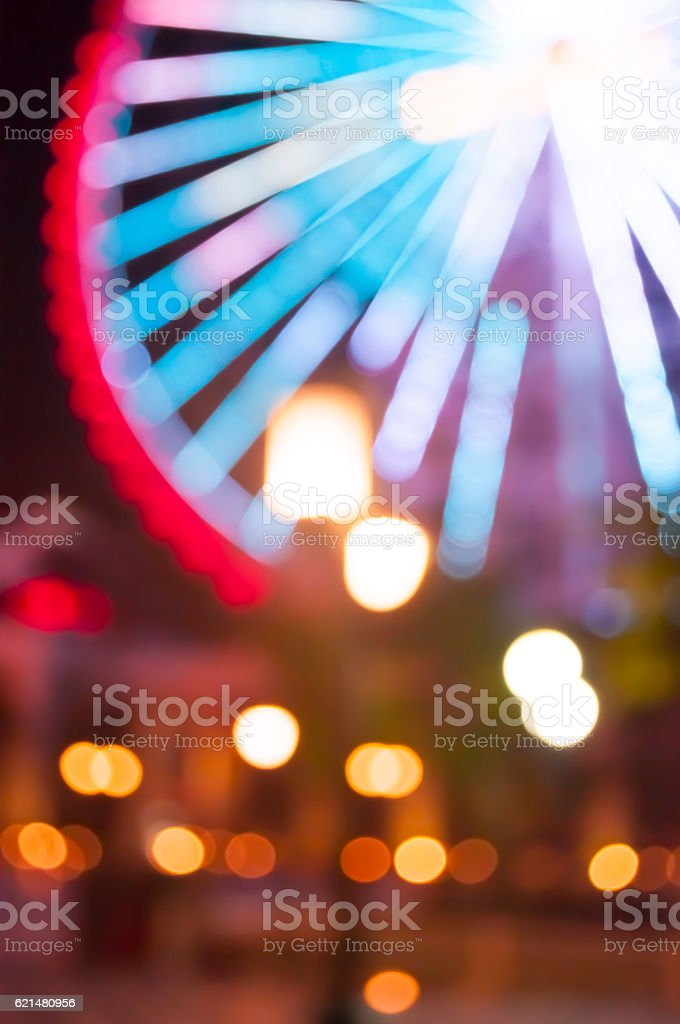 Carnival ferris wheel stock photo