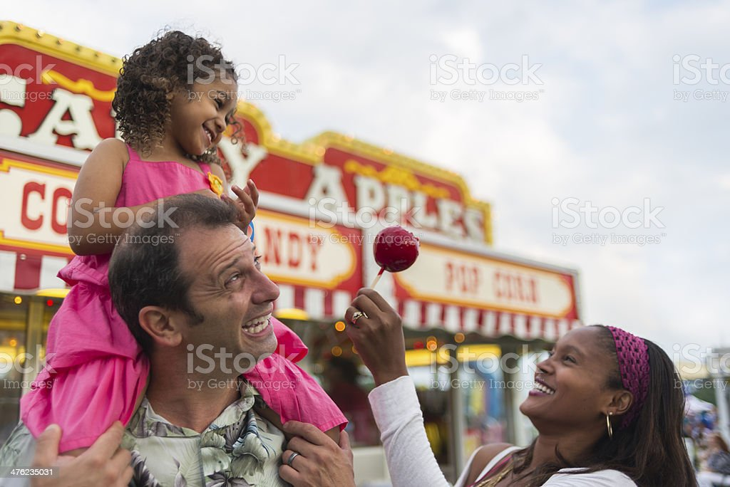 Carnival Food stock photo