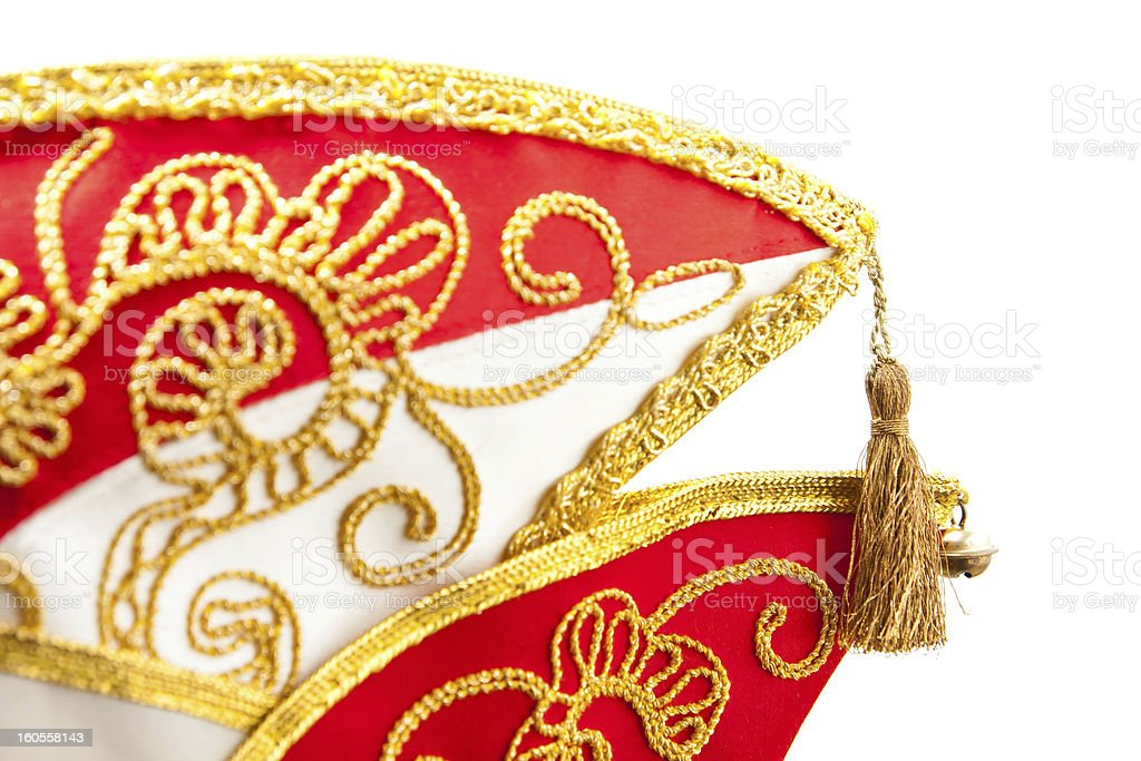 Carnival hat royalty-free stock photo