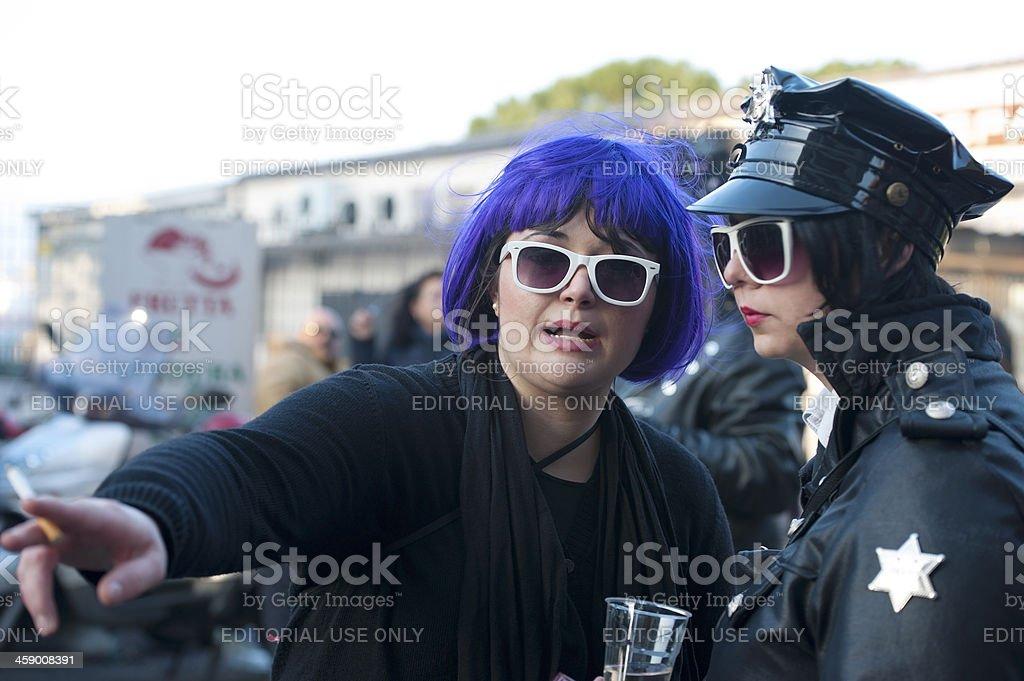 Carnival in Muggia royalty-free stock photo