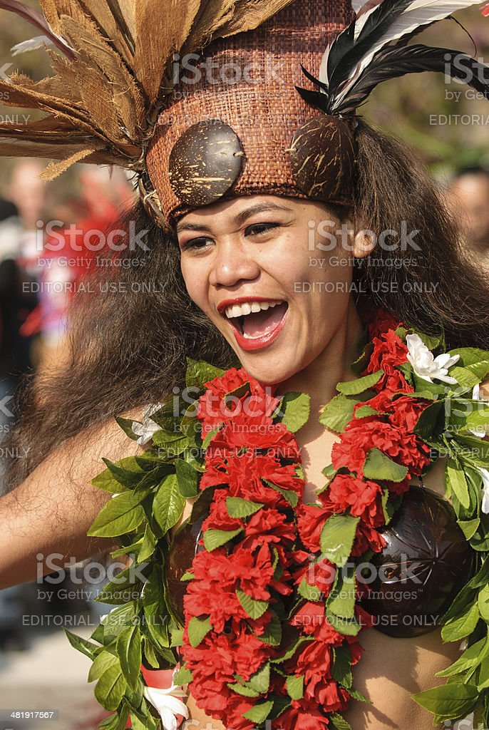 Carnival in Nice royalty-free stock photo