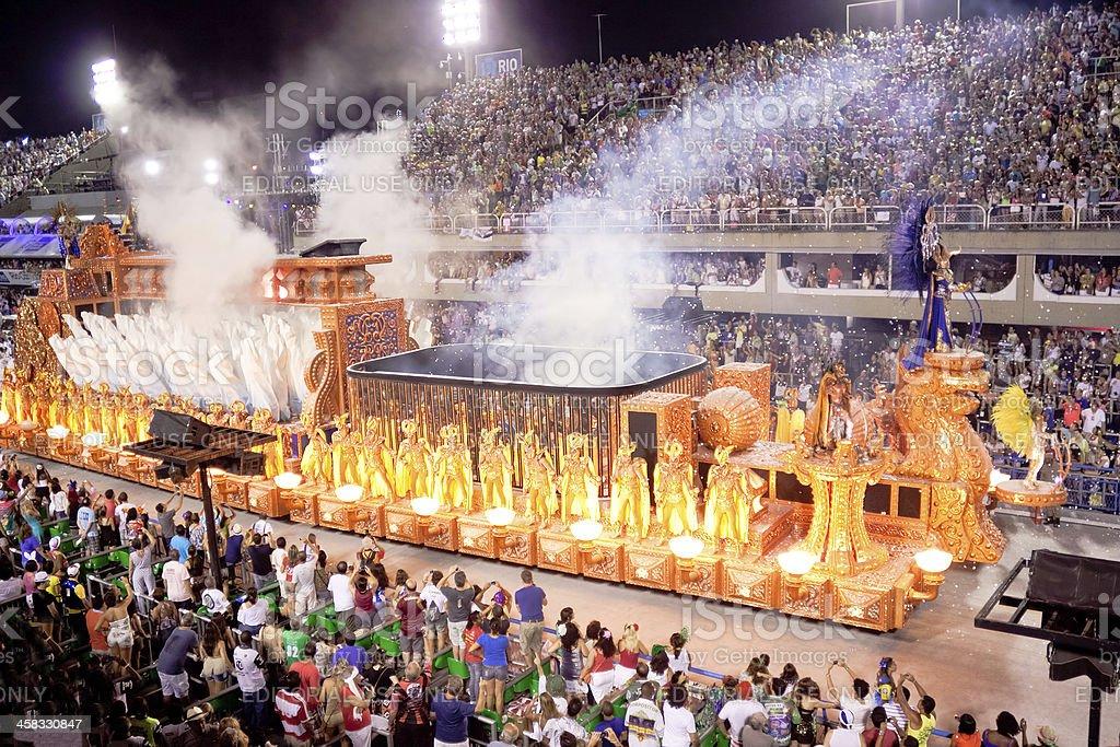 Carnival in Rio de Janeiro 2013 royalty-free stock photo