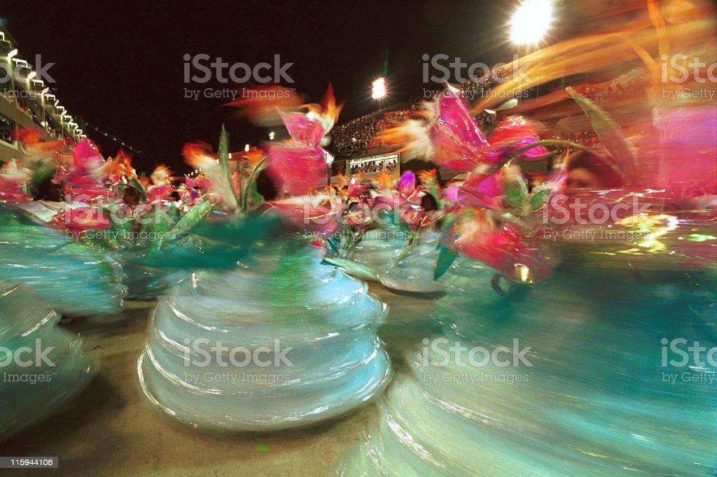 Carnival in Rio de Janeiro stock photo