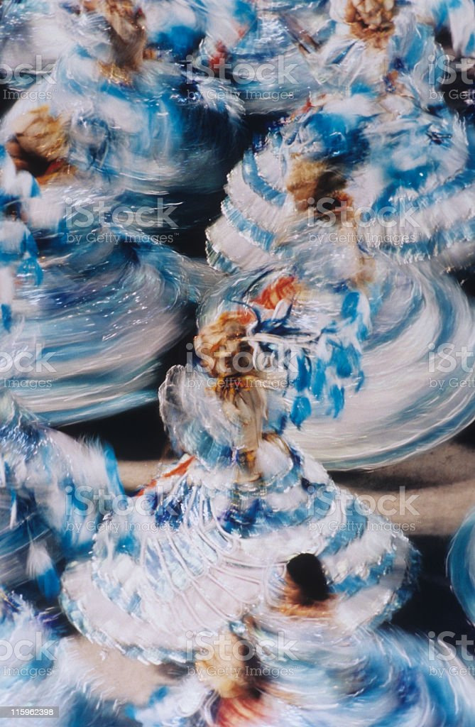 Carnival in Rio royalty-free stock photo
