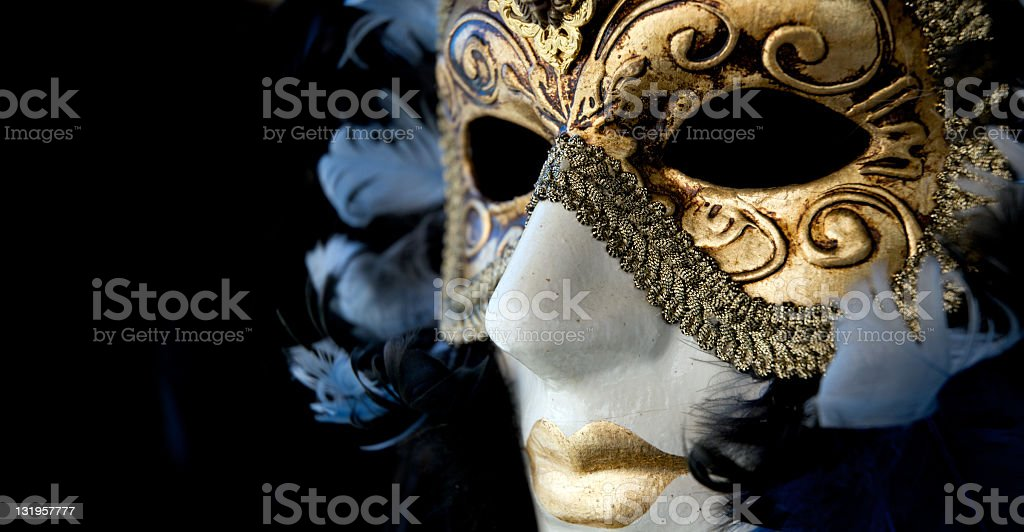 Carnival in Venice stock photo