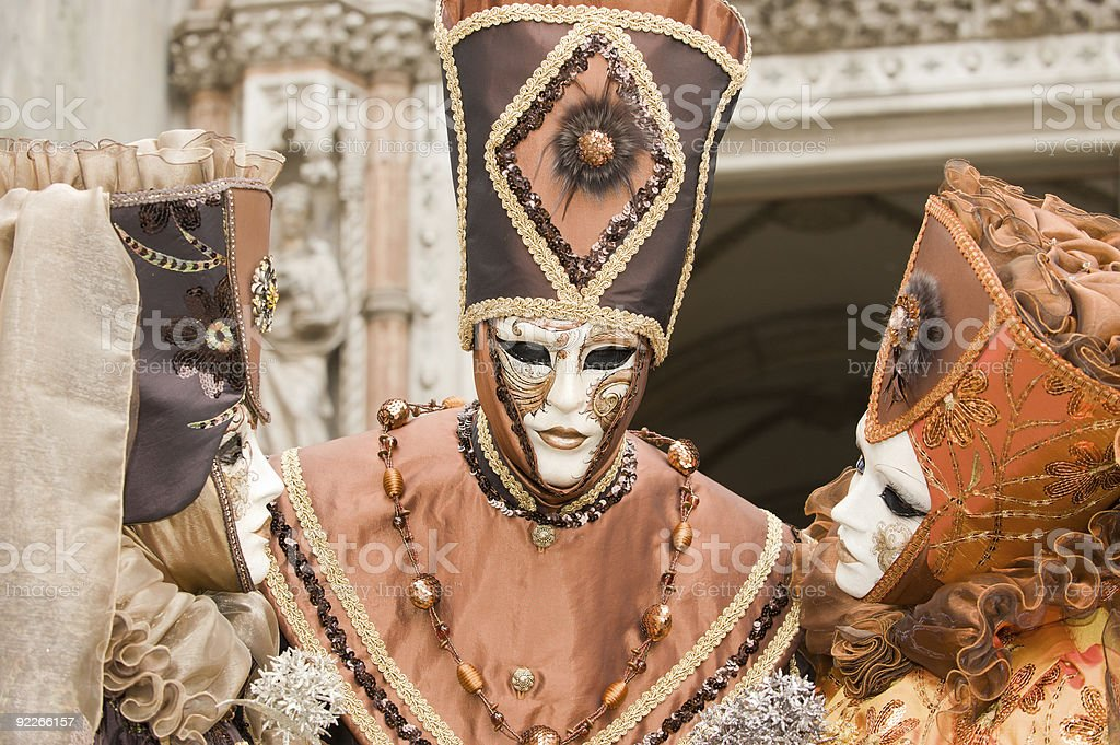 Carnival in Venice royalty-free stock photo