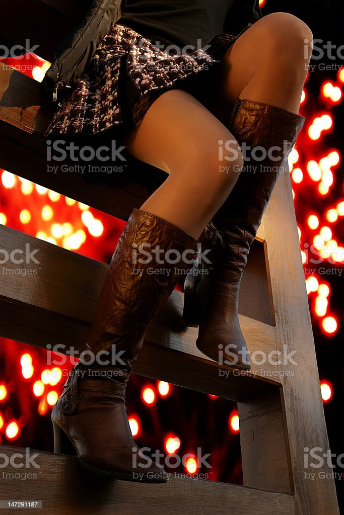 carnival legs royalty-free stock photo
