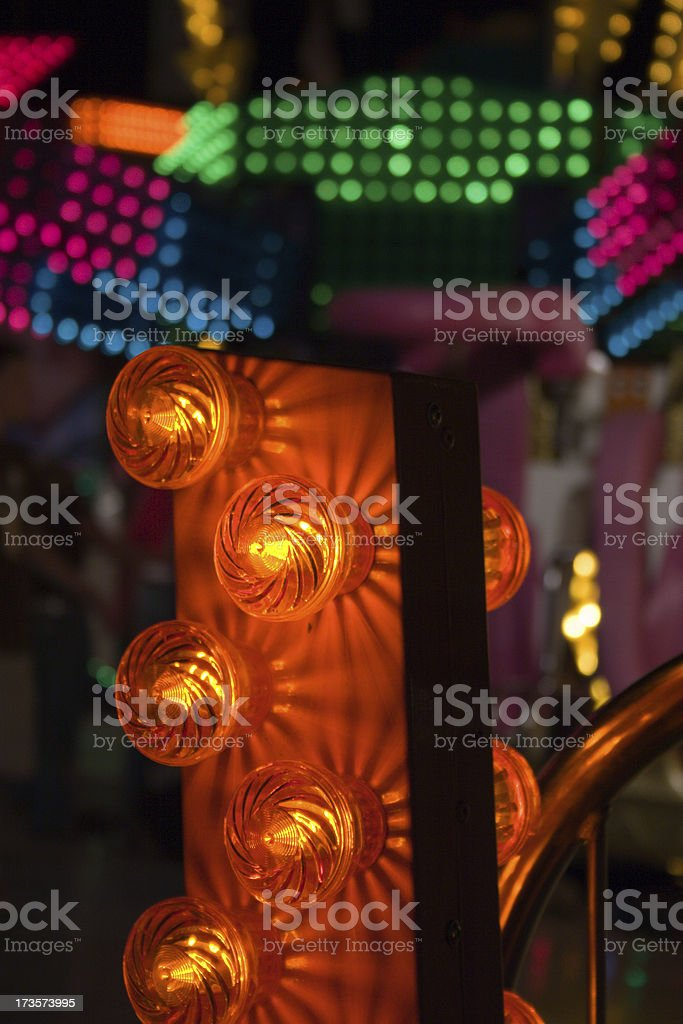 Carnival Lights royalty-free stock photo
