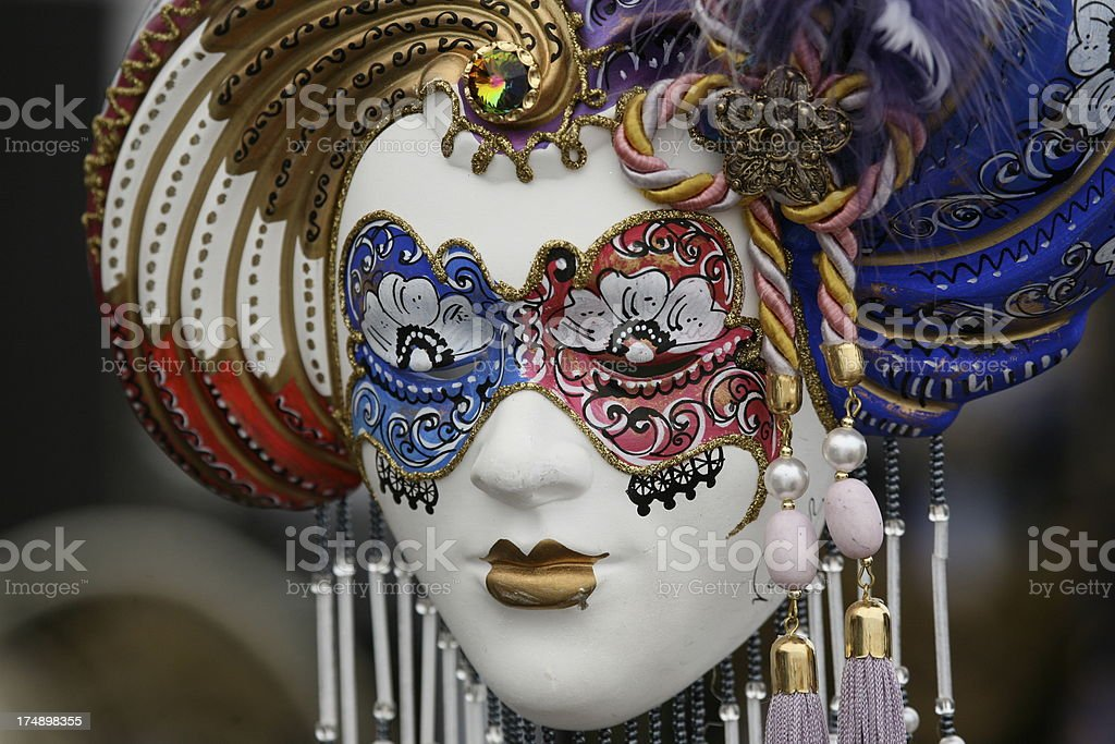carnival mask: fantasy royalty-free stock photo