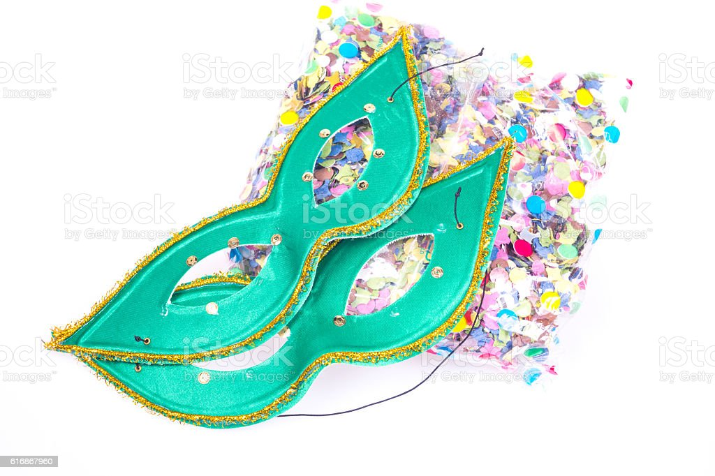 carnival mask, halloween mask stock photo