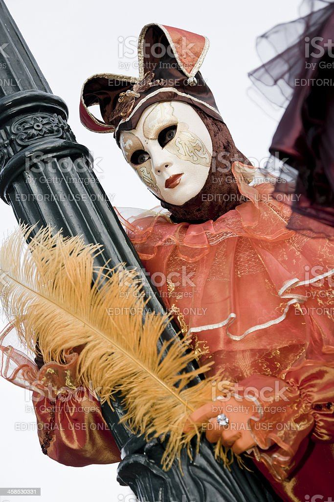 Carnival mask in Venice royalty-free stock photo