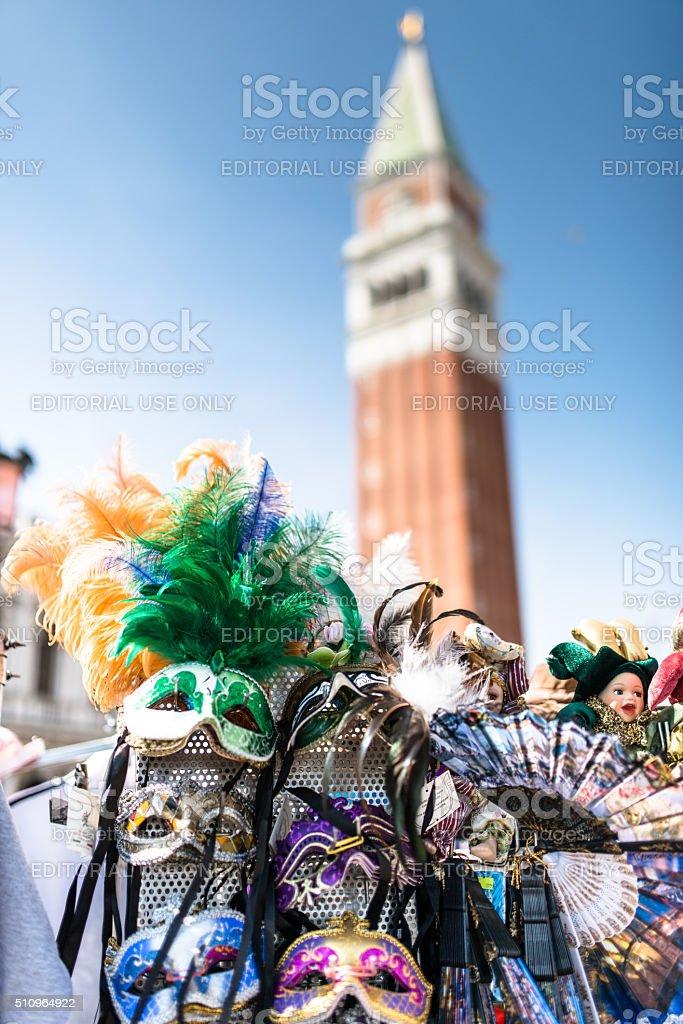 carnival mask in venice stock photo