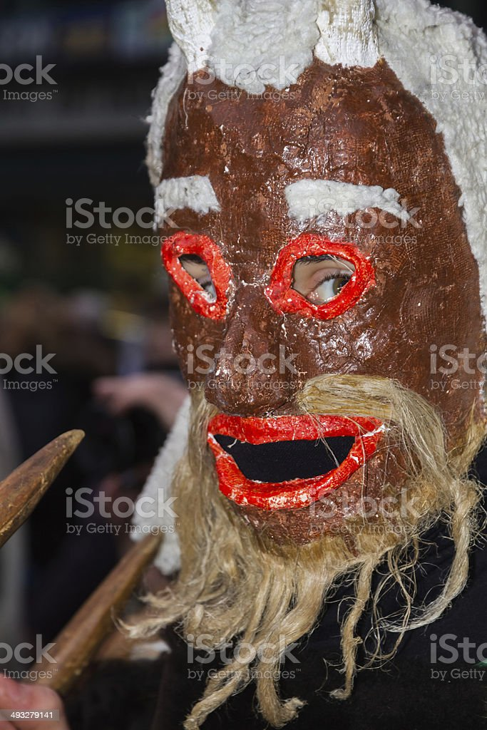Carnival Mask - Mascara de Carnaval stock photo