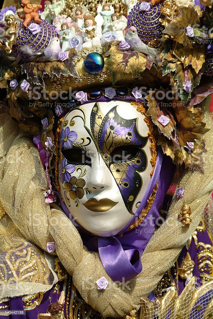 Masque de carnaval stock photo
