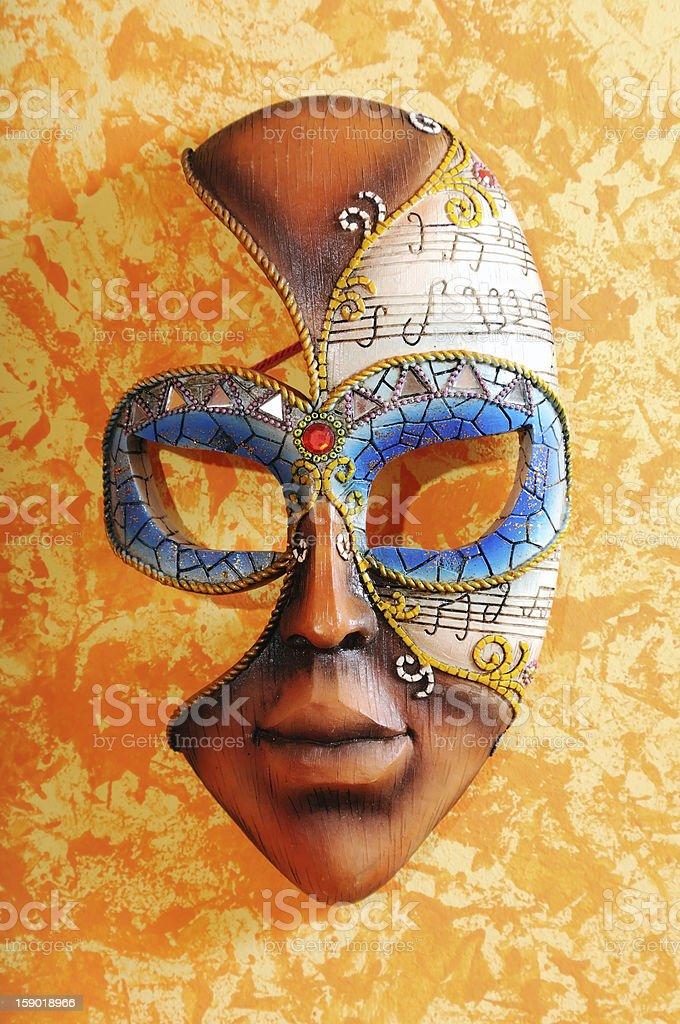 Carnival Mask stock photo
