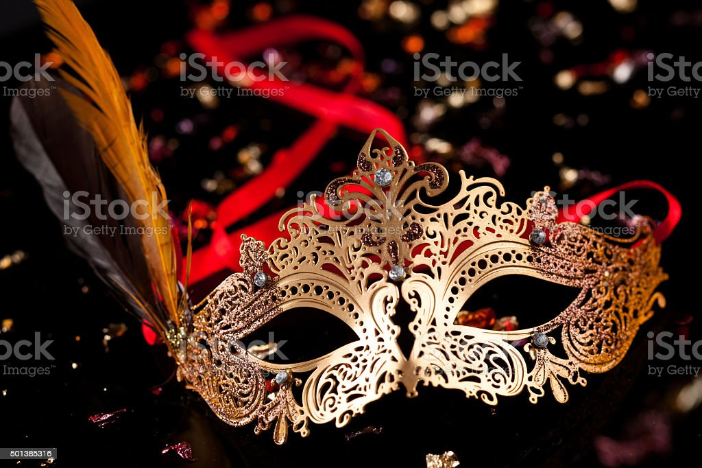 Carnival mask. stock photo