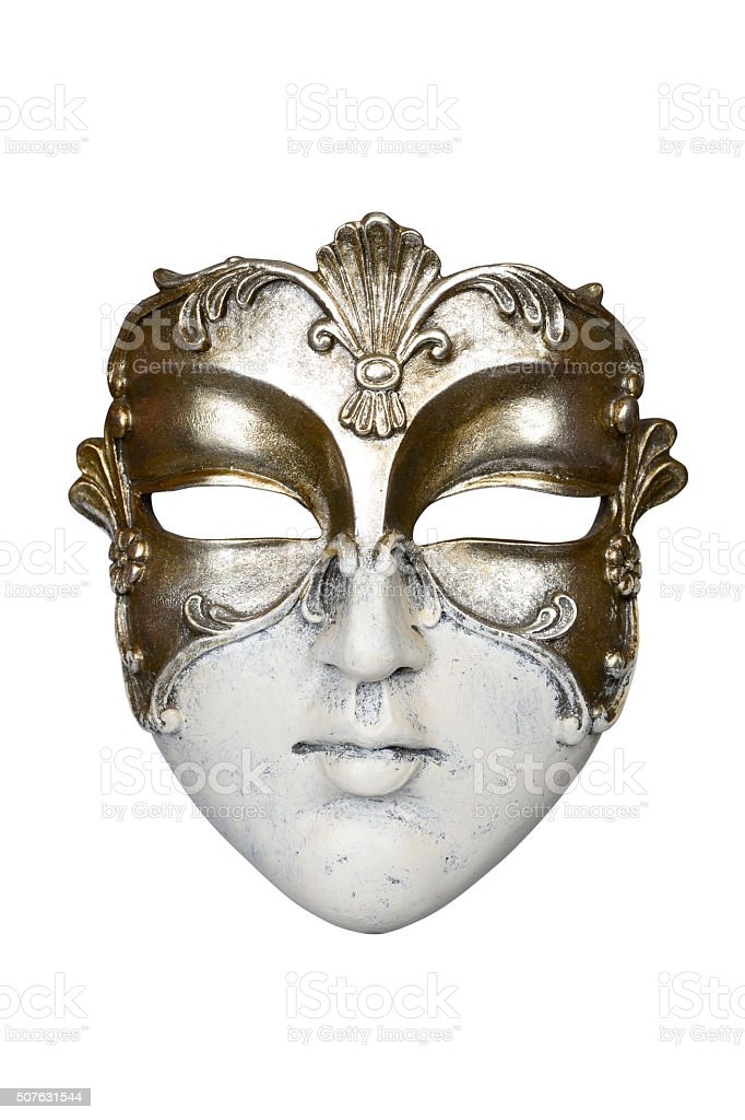 Carnival mask stock photo