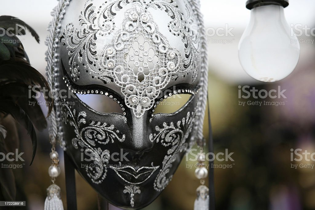 carnival mask: rural royalty-free stock photo