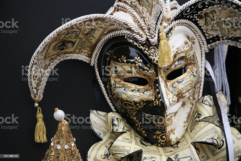 carnival mask: Smile royalty-free stock photo