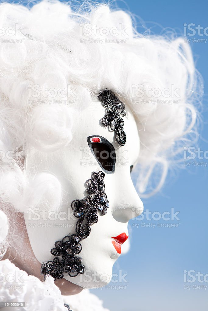 Carnival mask, Venice - Italy royalty-free stock photo