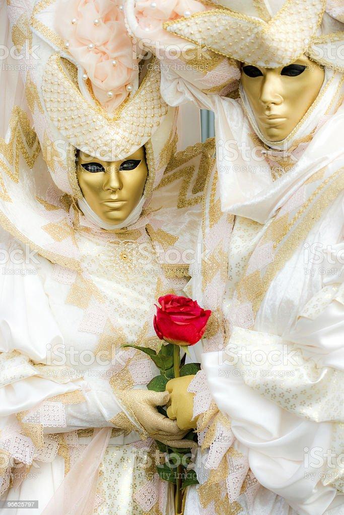 Carnival Masks in Venice. royalty-free stock photo
