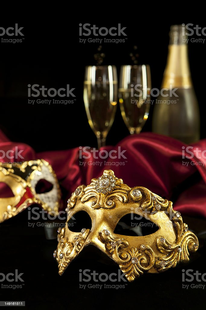 Carnival masks stock photo