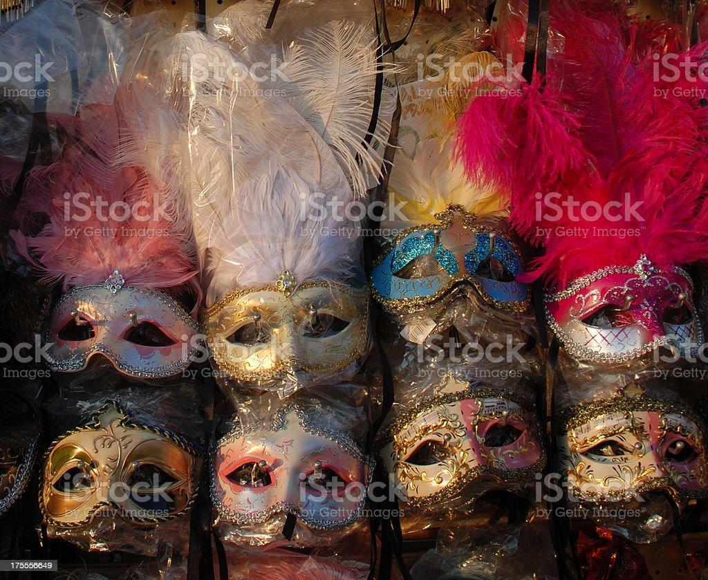 Carnival Masks, Venice, Italy royalty-free stock photo