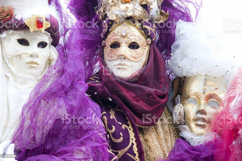 Carnival Masks, Venice. royalty-free stock photo