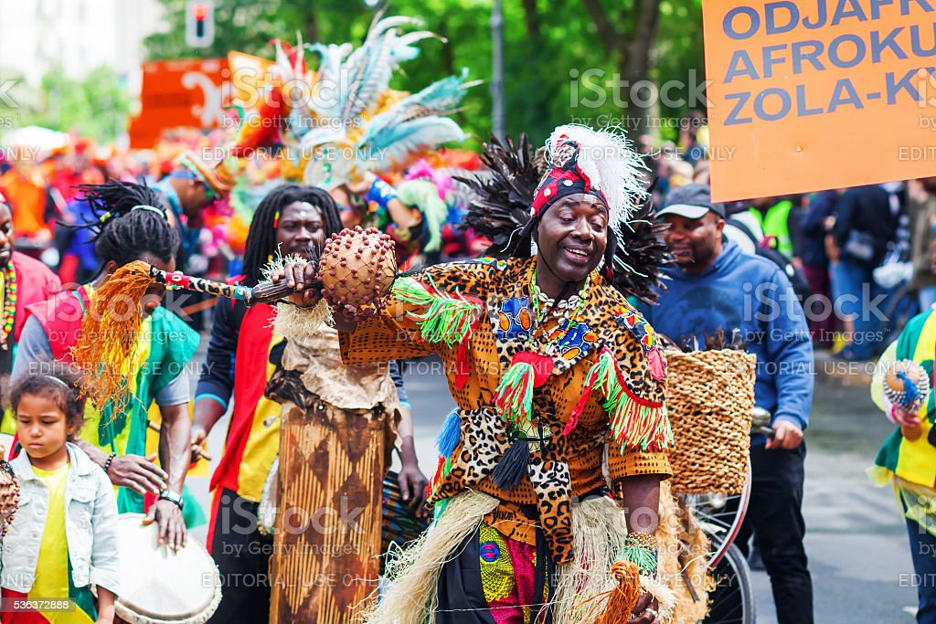 Carnival of Cultures in Berlin, Germany stock photo