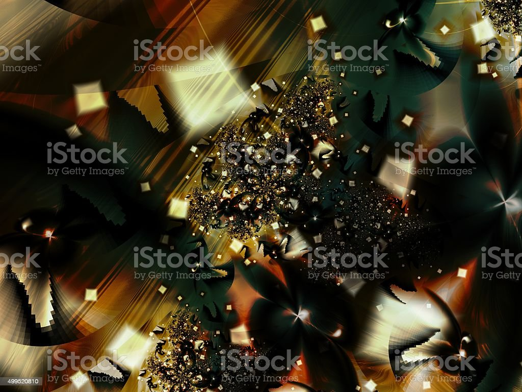 Carnival of Lights Colorful Artwork stock photo