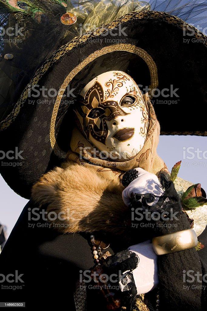 Carnival of Venice royalty-free stock photo