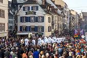 Carnival Parade in Basel, Switzerland