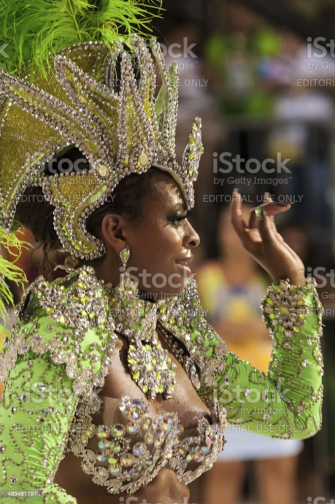 Carnival Parade royalty-free stock photo