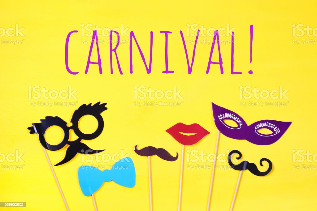 carnival party celebration concept stock photo
