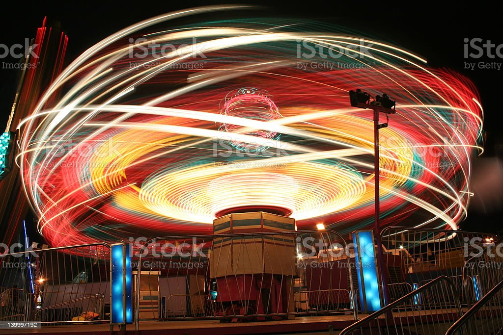 Carnival Ride royalty-free stock photo