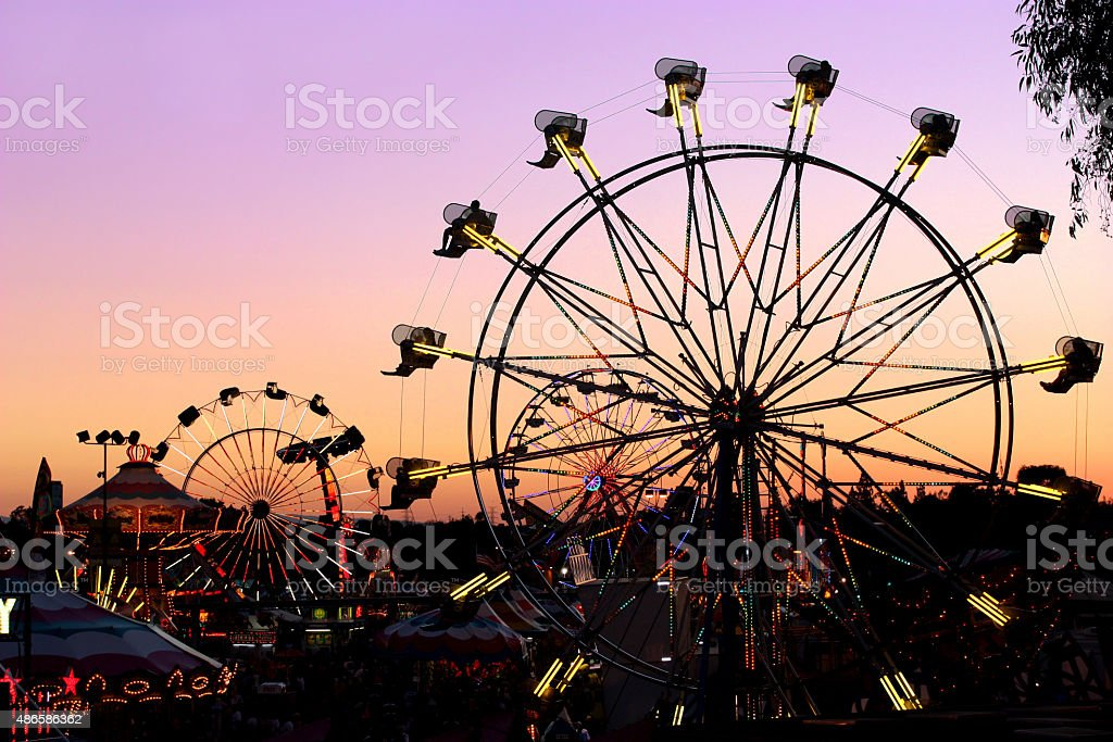Carnival Ride stock photo