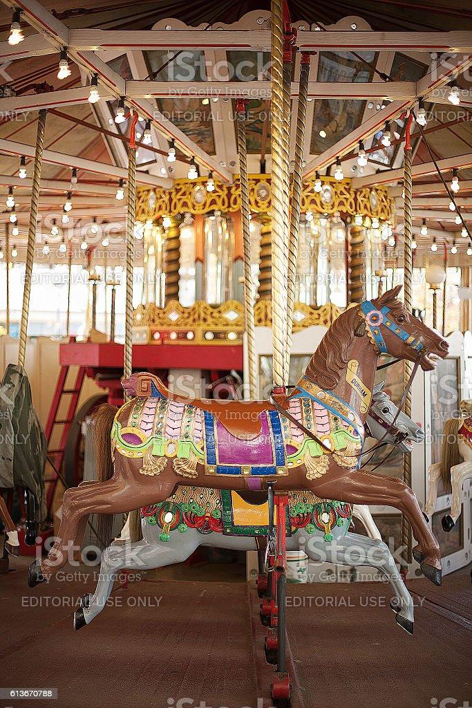 Carnival Ride stock photo