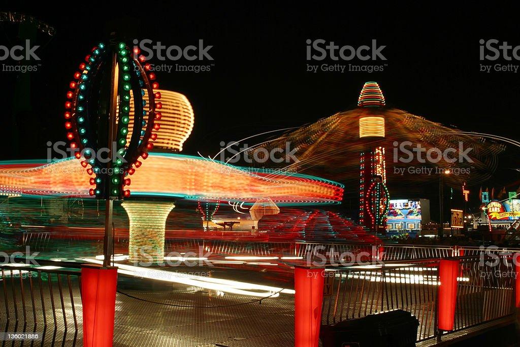 Carnival Rides 3 stock photo