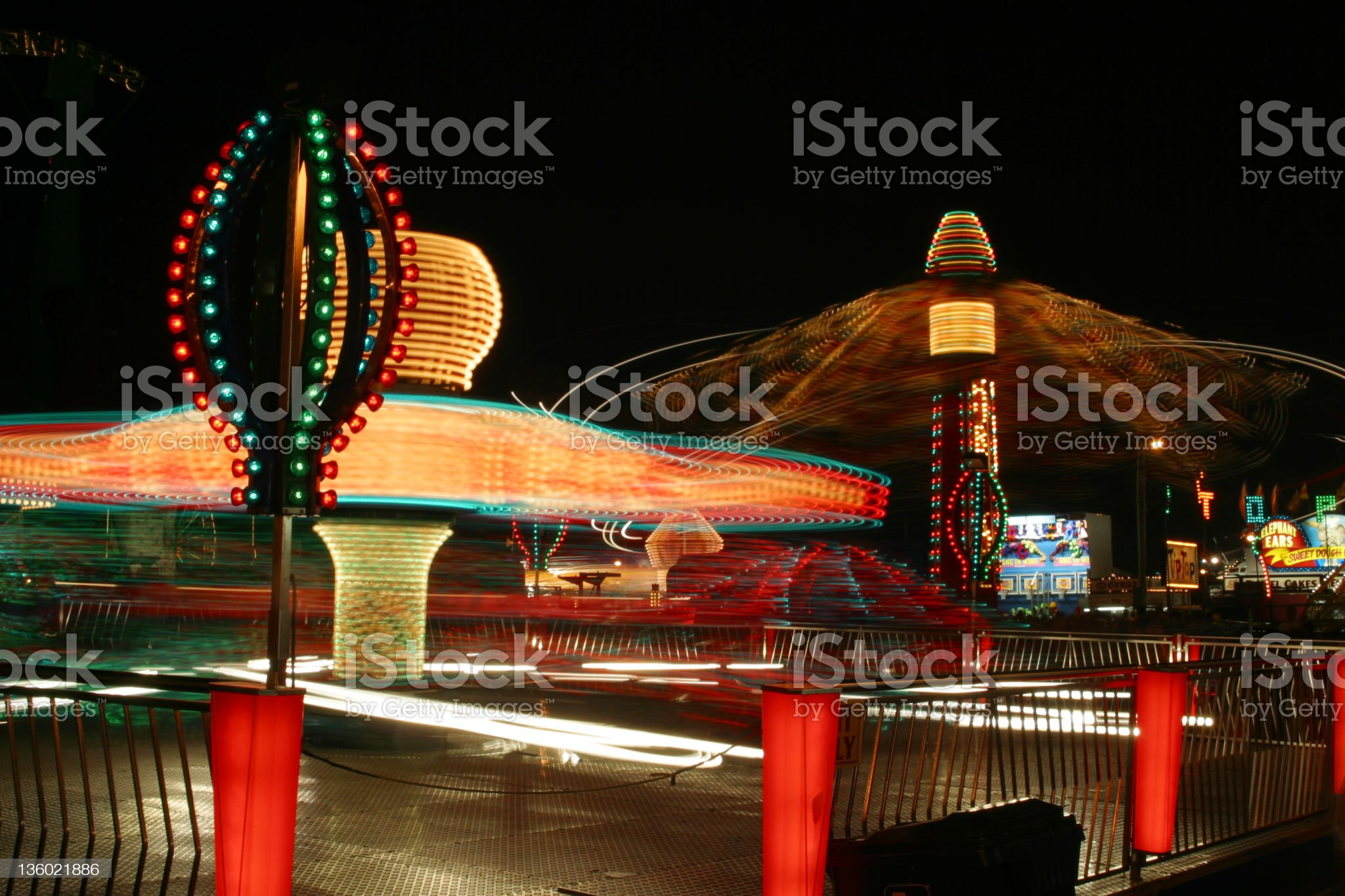Carnival Rides 3 royalty-free stock photo